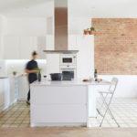 Cocina a Medida Lacada en Blanco
