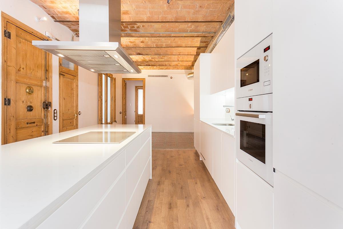 Fotos de cocinas en barcelona for Fabricantes de muebles de cocina en barcelona
