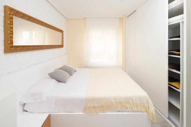 Armario a medida blanco de dormitorio
