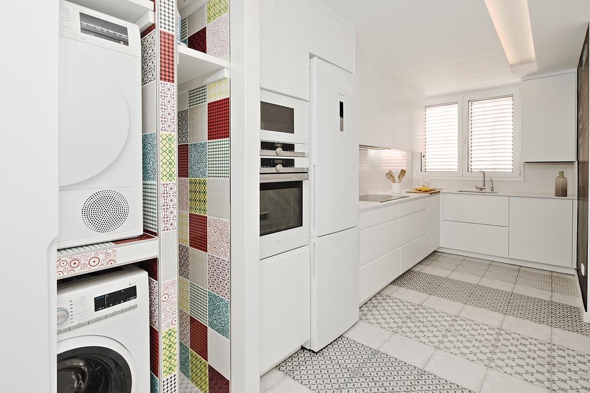 Cocinas rectangulares Barcelona